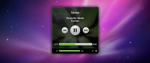 Spotify Mini Player Screenshot